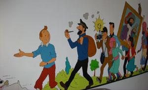 Tintin Metro