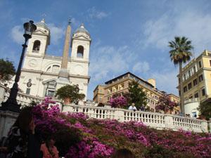 Spanish Steps in Bloom