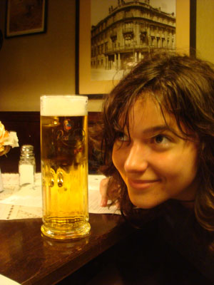 This is what a 3 Euro beer looks like