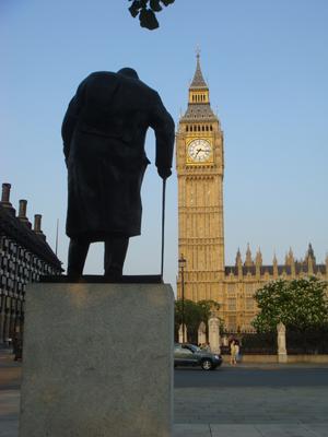 Taller than Churchill