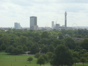 View of London from Primrose
