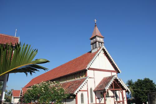 A Church in Indonesia