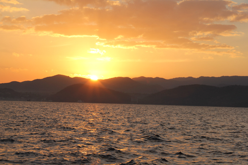 Sunrise over Labuan Bajo