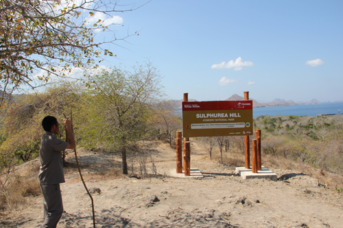 Hiking Komodo Island