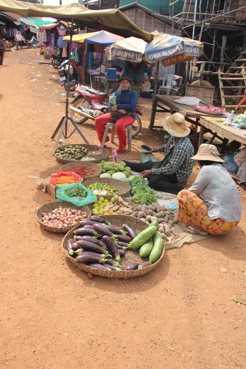 Selling Vegetables
