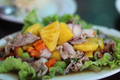 Pork with Pineapple