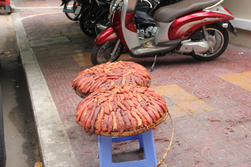 Roadside Drying Meat