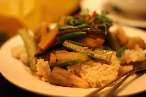 Rice Cake Veggies