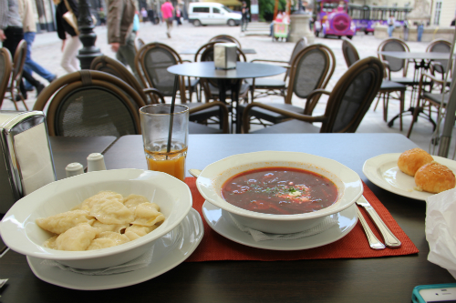 Lviv lunch