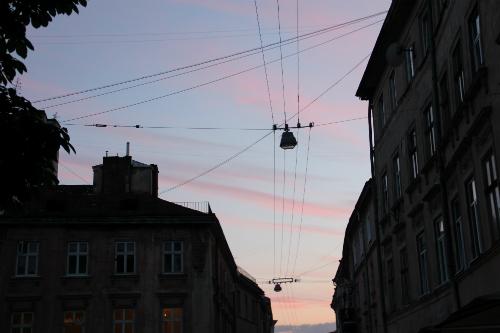 Lviv Pink Sky