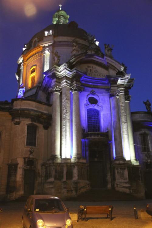 Night Church Lviv