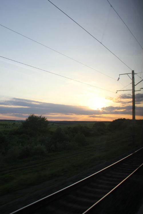 Train Ride to Lviv