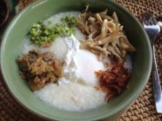 Bubur Breakfast