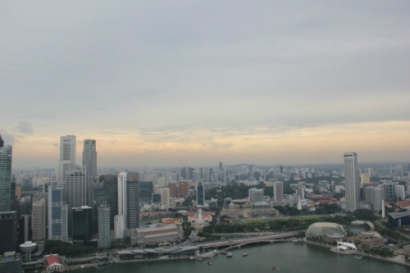 View from Marina Bay Sands
